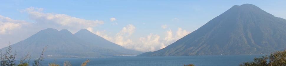 Lago de Atitlan from San Marcos la Laguna
