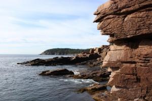 Near Acadia's Thunder Hole