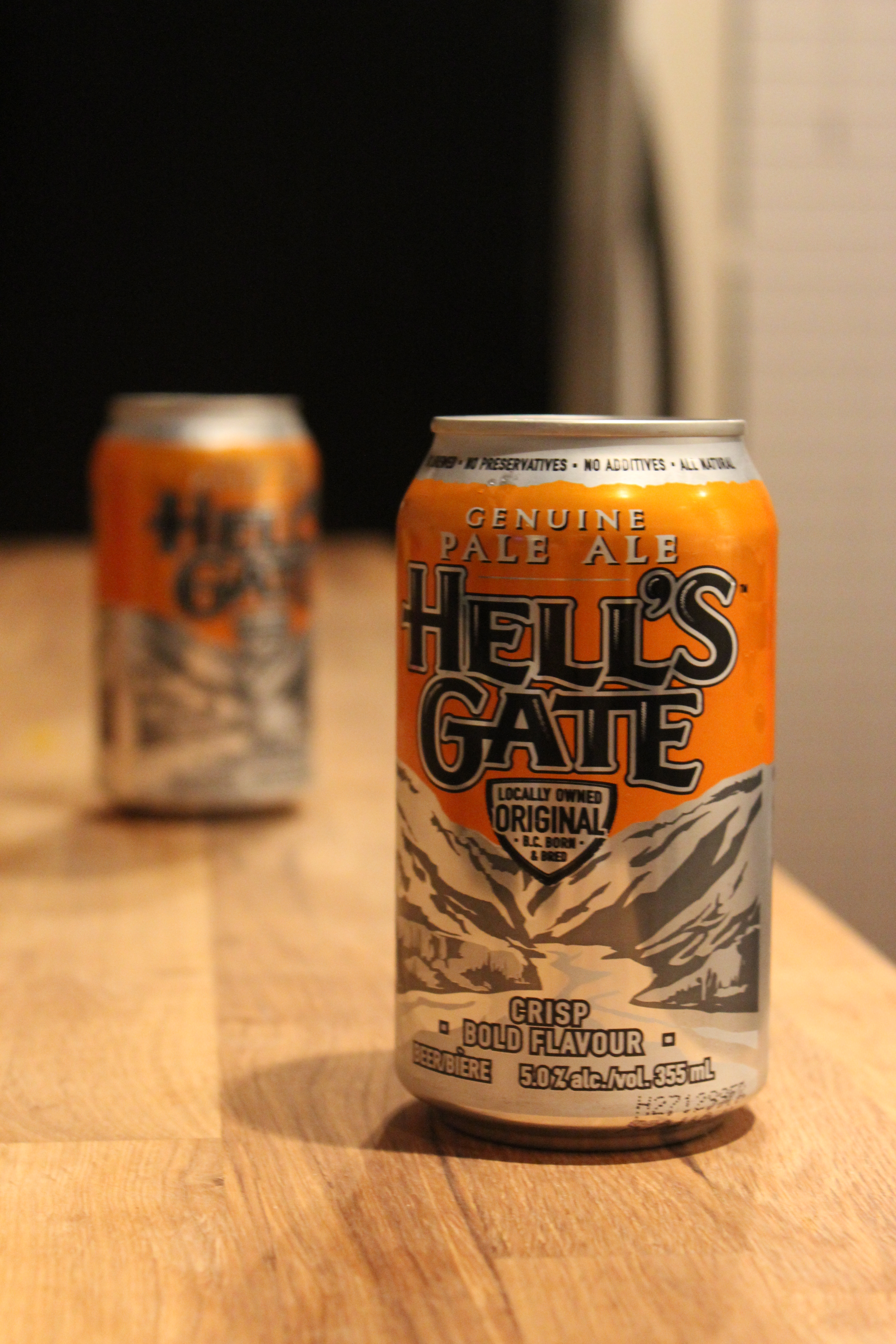 Hell's Gate -- Beer is expensive in Vancouver