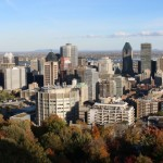 View from Mont Royal in Montreal