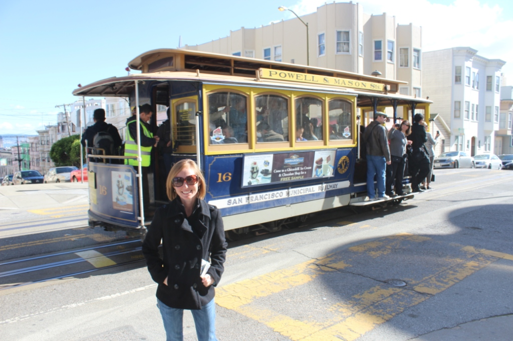 Brie with San Francisco Cable Car