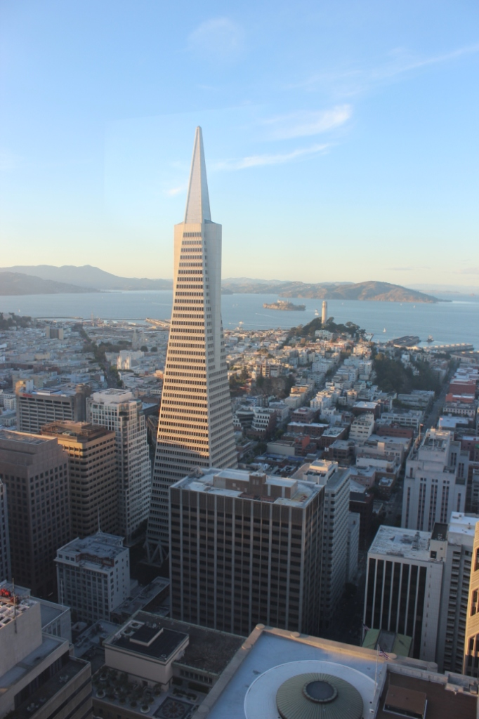 Pyramid Life Building Downtown San Francisco