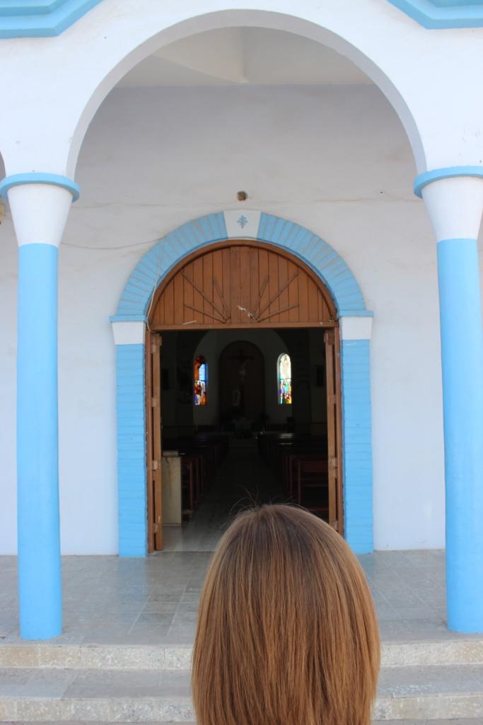 Church Entrance in Constitución