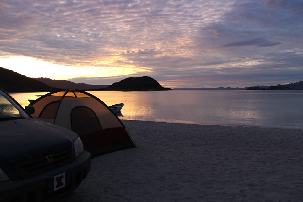 Our Tent at Playa Santispak