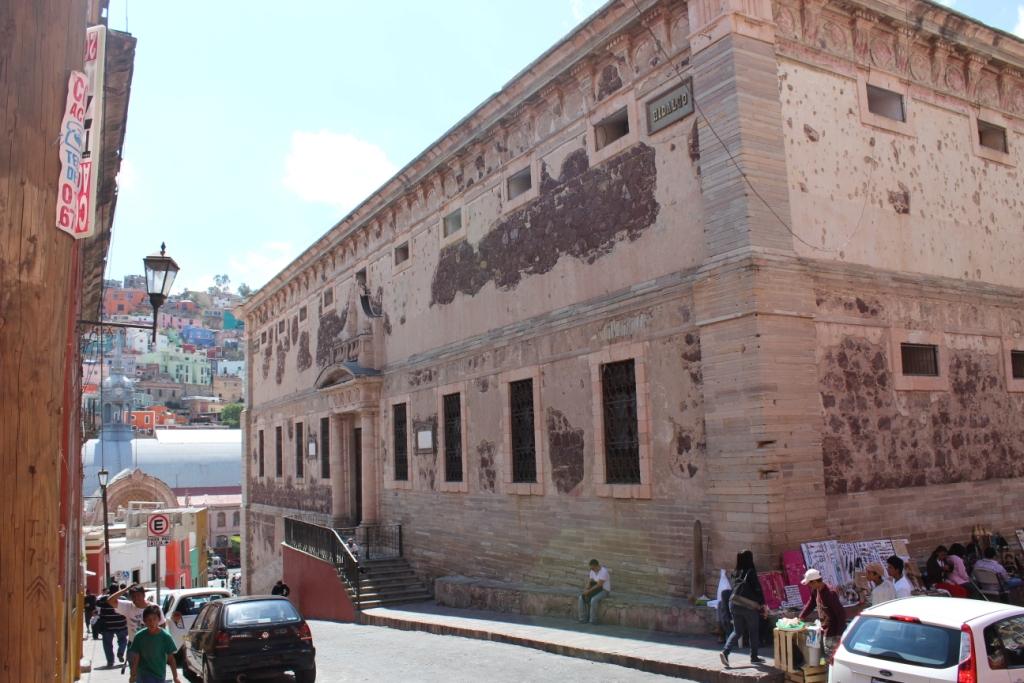 La Alhondiga de Granaditas Guanajuato Exterior Looking Toward Mercado Hidalgo