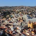 View of el Centro de Guanajuato from El Pipila