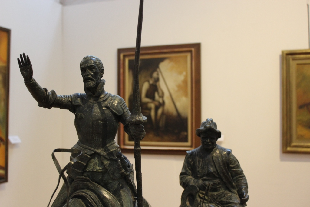 Quijote and Sancho Statue