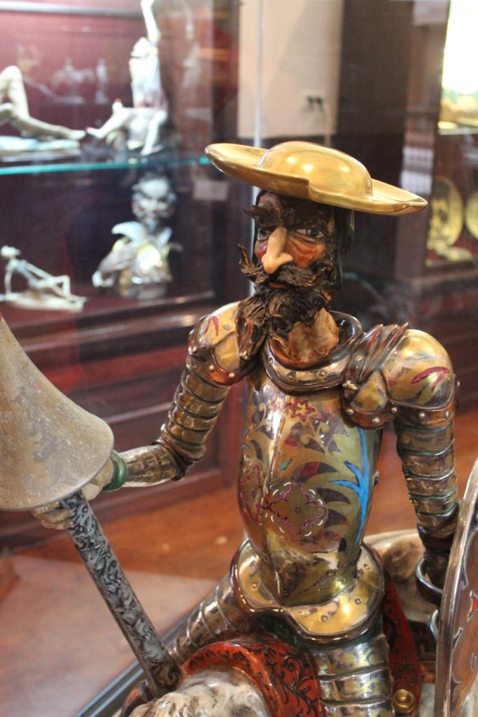 Ceramic Quijote