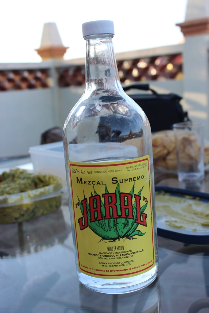 Bottle of Mezcal