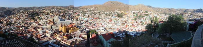 Panorama of Guanajuato from El Pipila