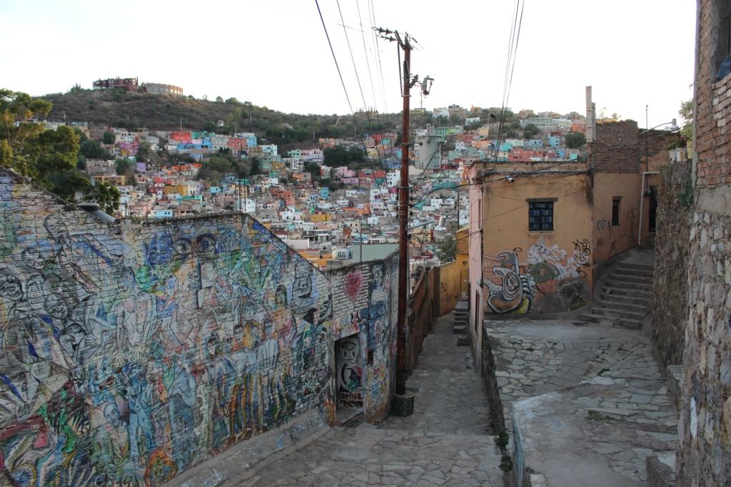Callejons in Guanajuato