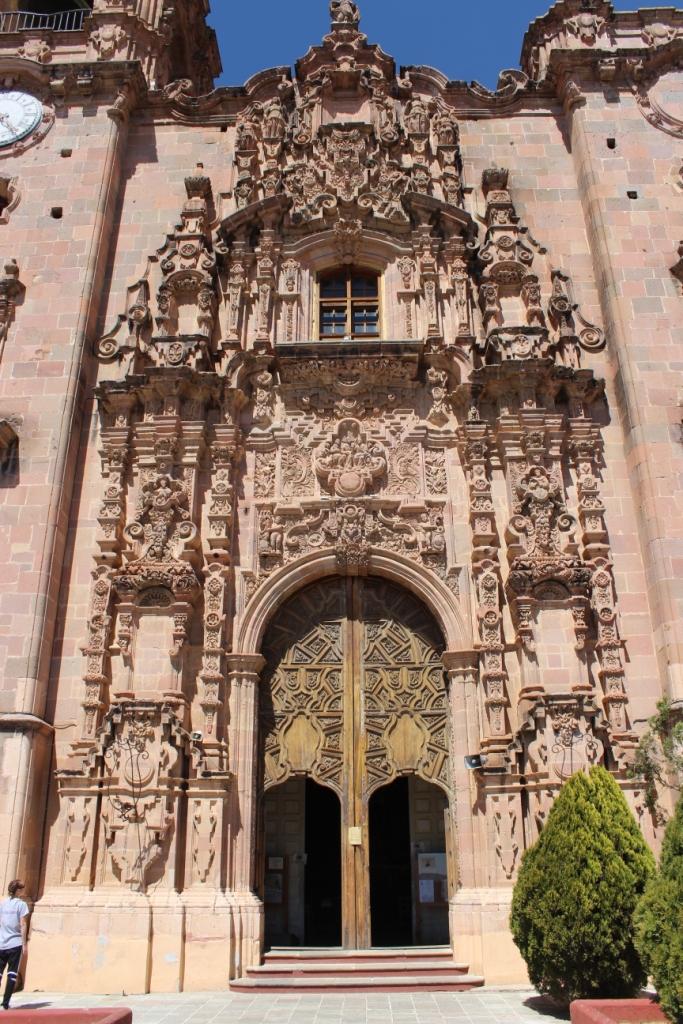 La Valenciana Church Facade
