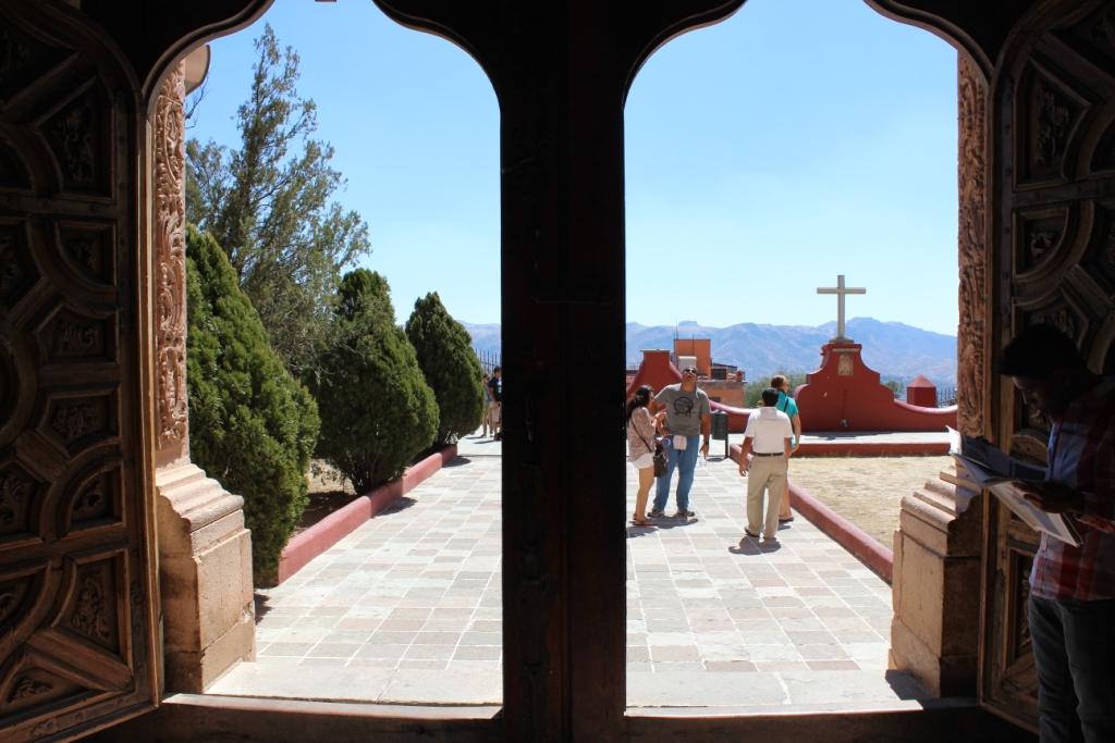 View from La Valenciana Church