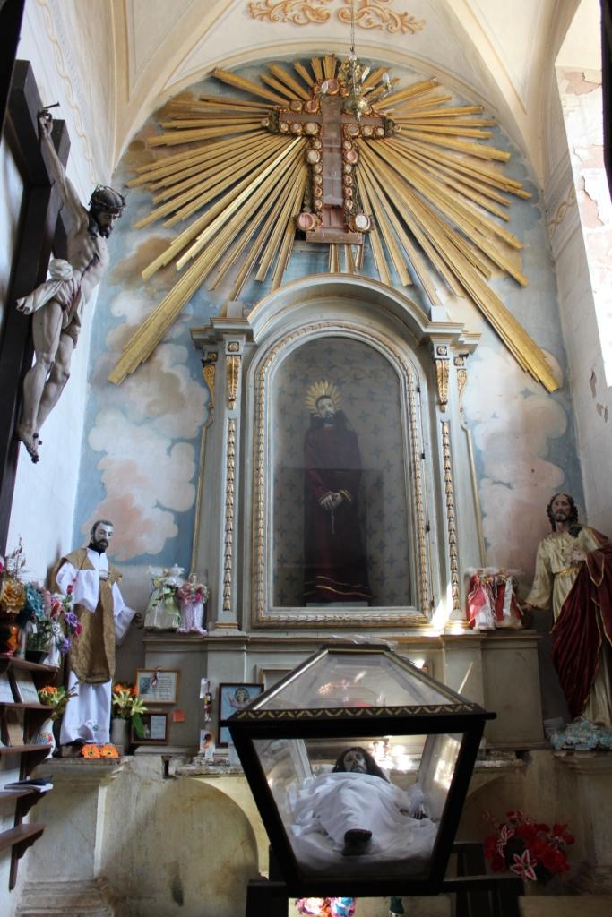 Creepy Jesus Room in La Valenciana Church