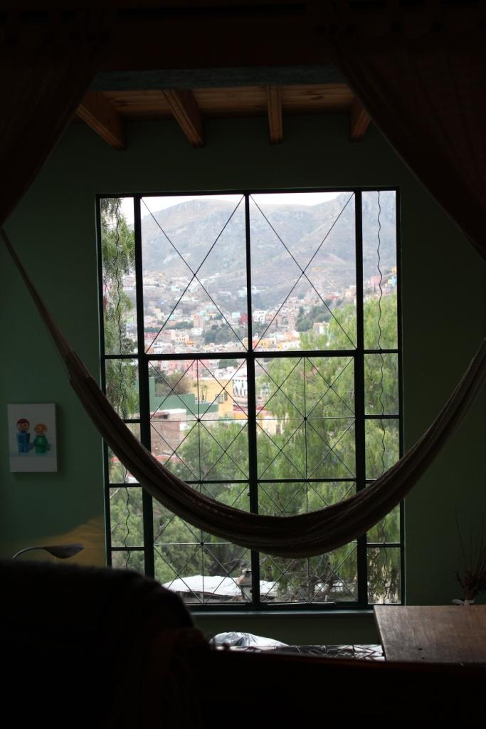 Vista Feliz Bed View in Guanajuato, Mexico