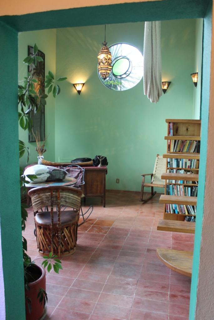 Vista Feliz Living Area in Guanajuato, Mexico
