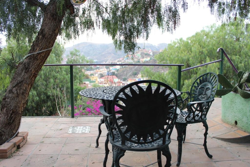 Vista Feliz Terrace in Guanajuato, Mexico