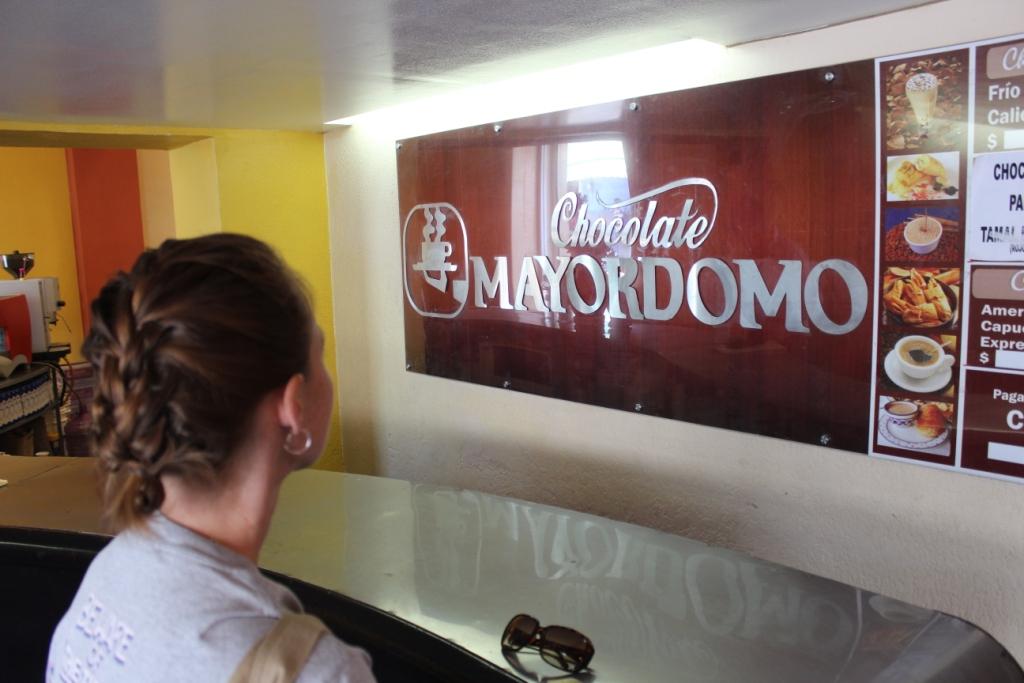 Chocolate at Mayordomo near Oaxaca's Zocalo