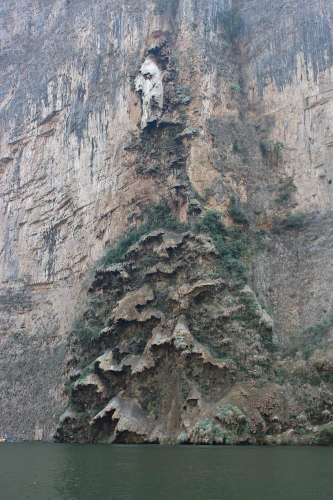 Sumidero Canyon Christmas Tree - Chiapas, Mexico