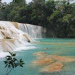 Agua Azul waterfall in Chiapas, Mexico