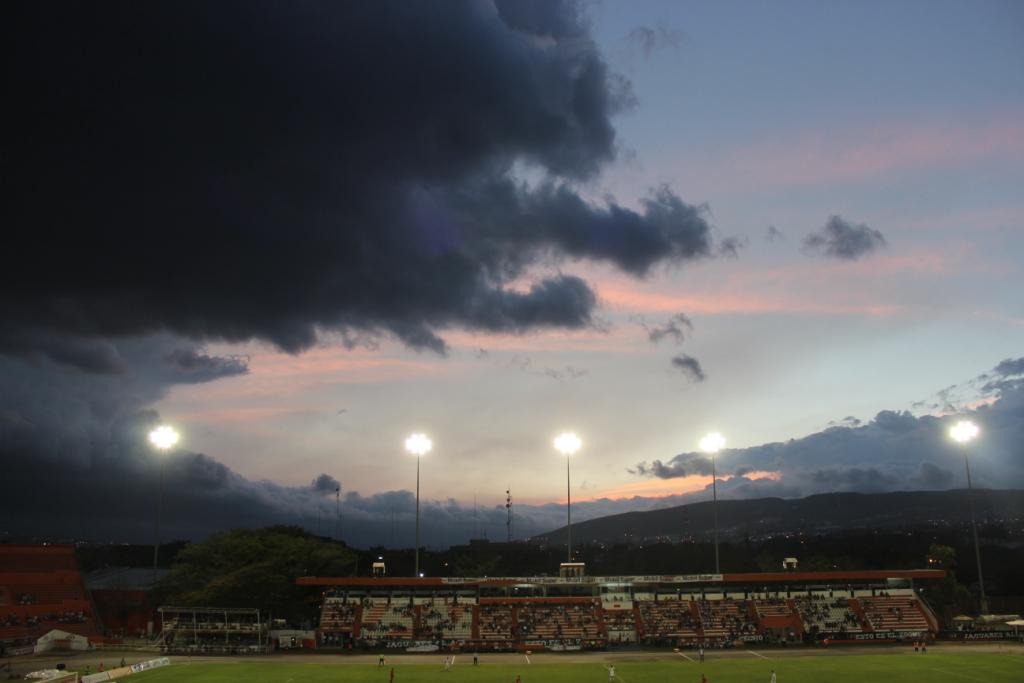 Beautiful Clouds around Stadium
