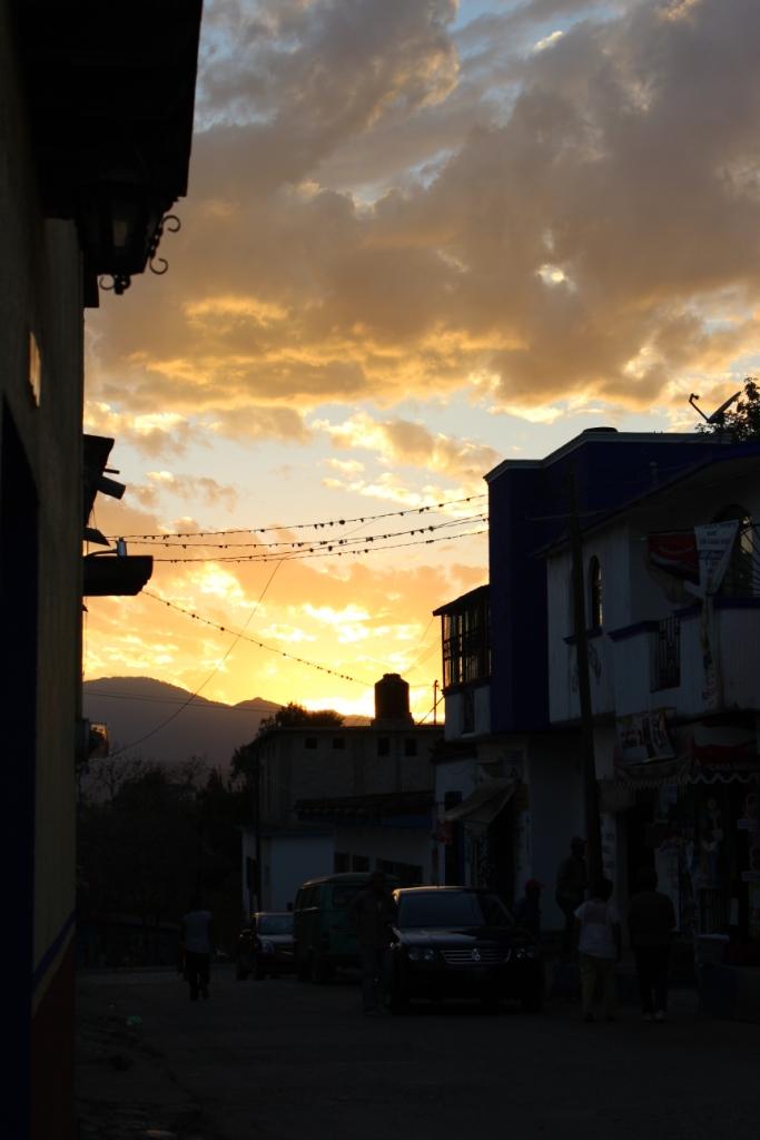 San Sebastian Etla Sunset