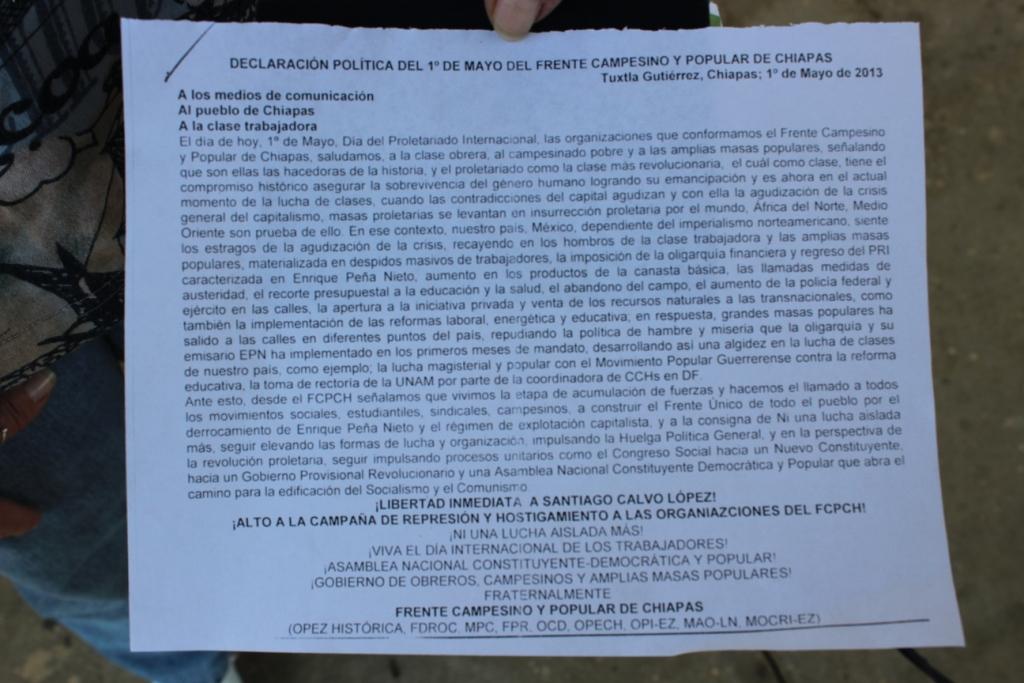 Frente Campesino Popular de Chiapas