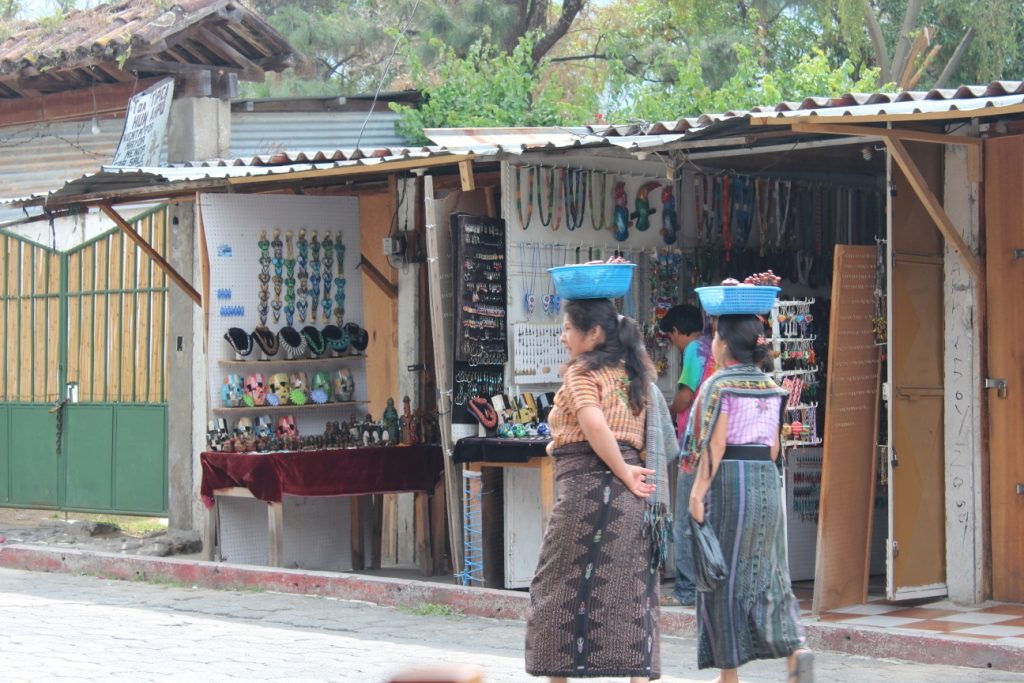 Kaqchikel Maya women in Panajachel