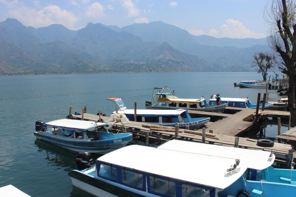 San Pedro la Laguna at Lago de Atitlan