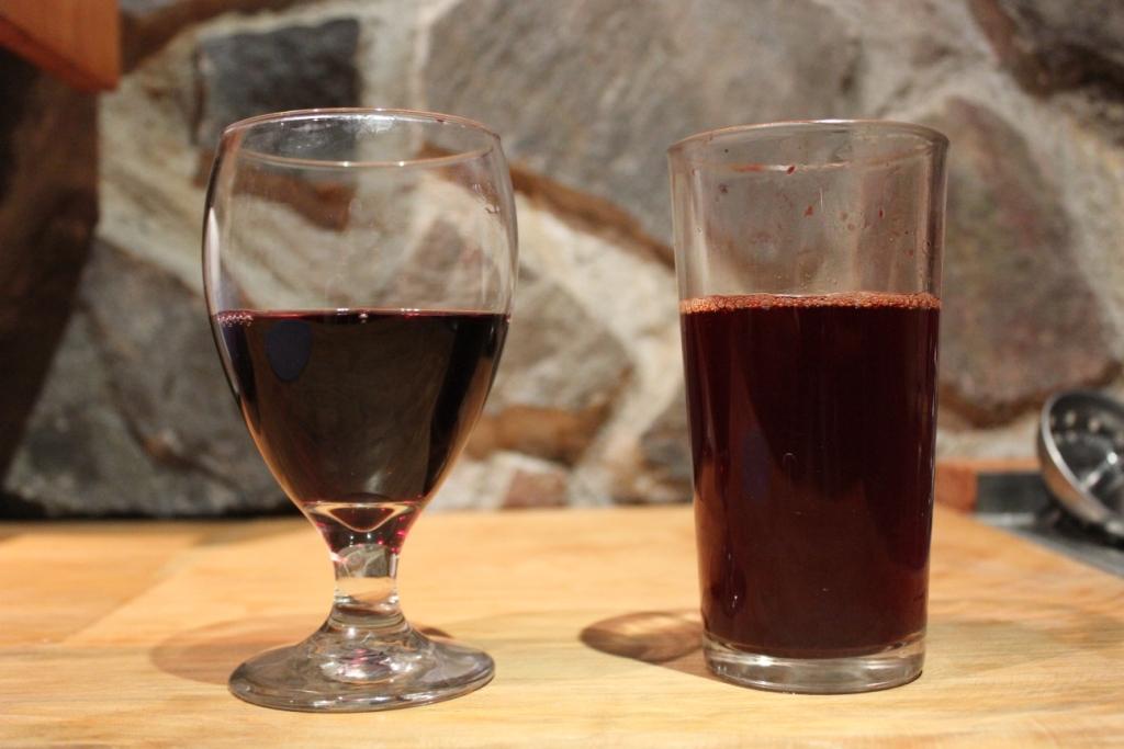 Wine and Beet Stock