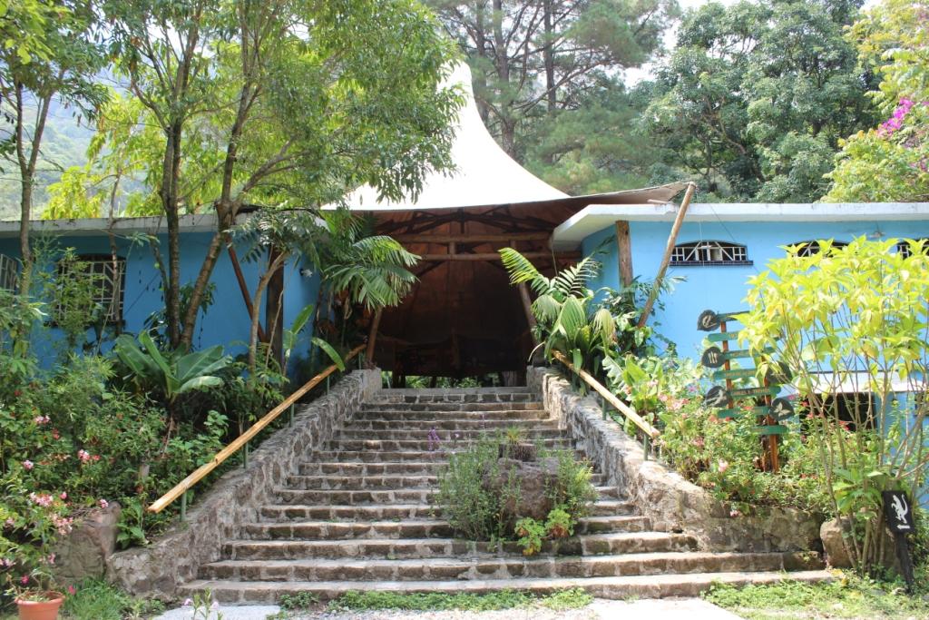 Reserva Natural Atitlán in near Panajachel in Guatemala