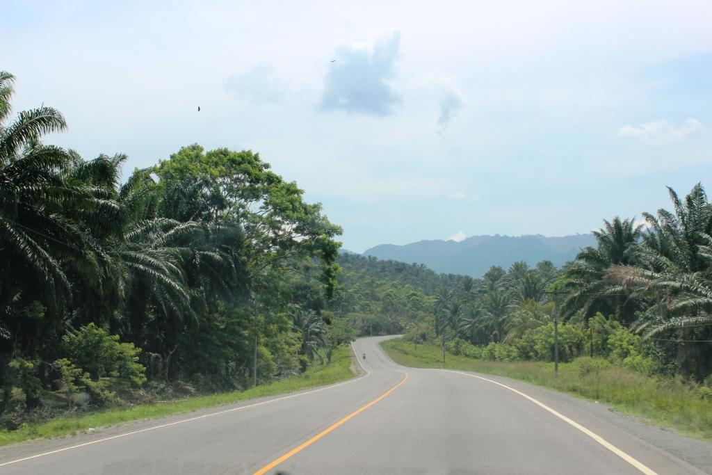 Driving in Honduras