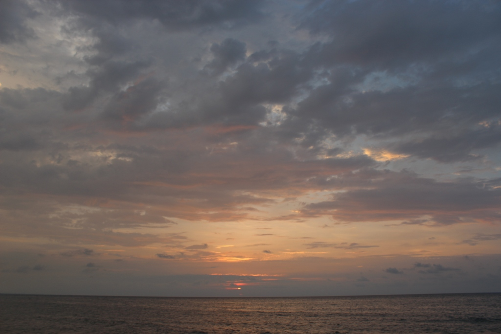 Sunset at La Ceiba