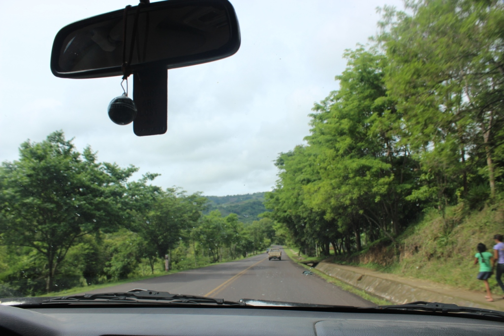 The countryside just south of Estelí