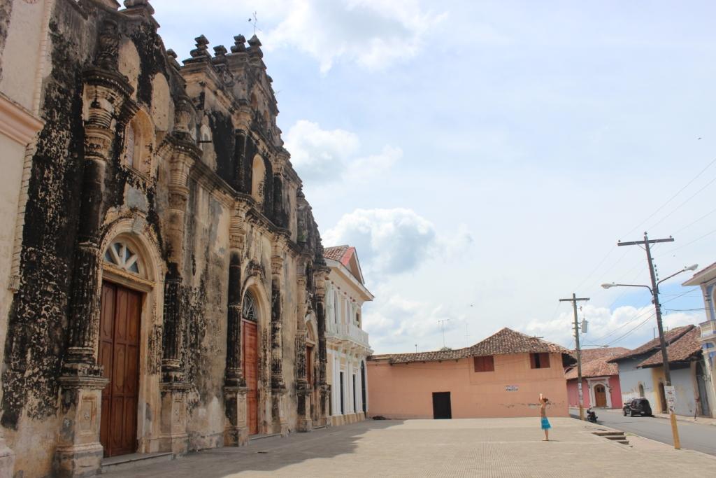 Convento de San Francisco in Granada, Nicaragua