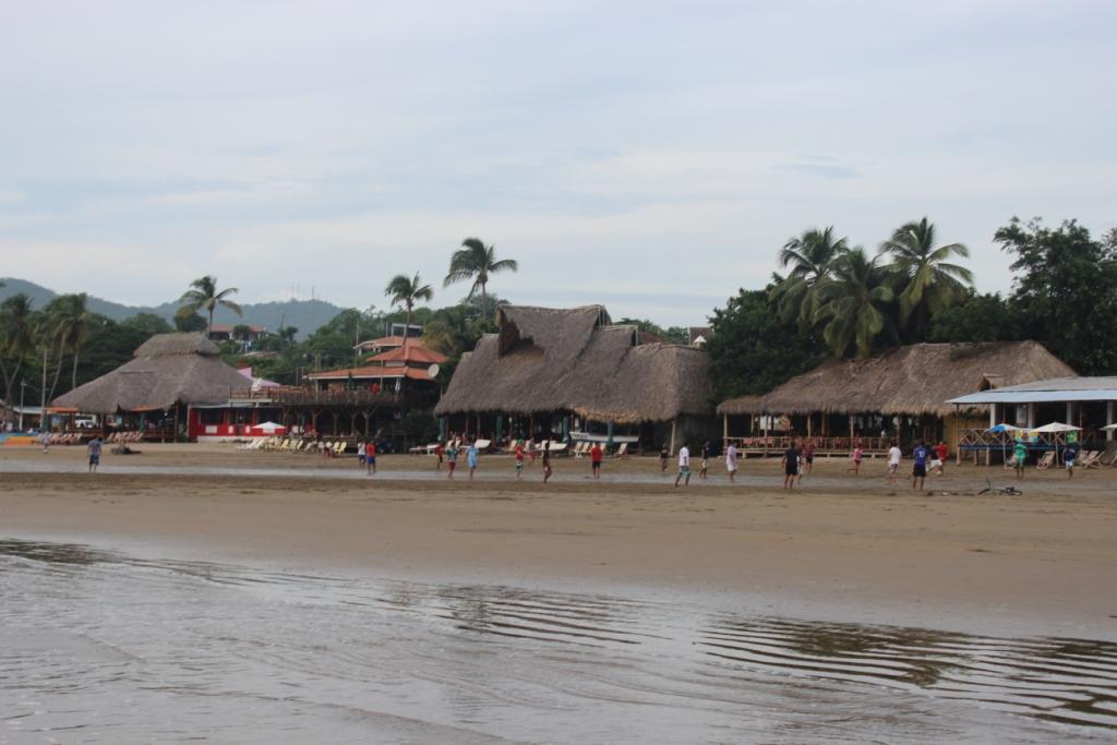Beach front in San Juan del Sur