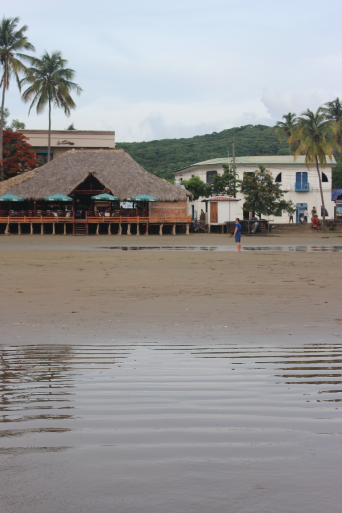 Beach side in San Juan del Sur