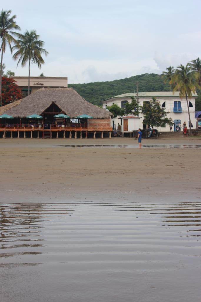 Beach side in San Juan del Sur