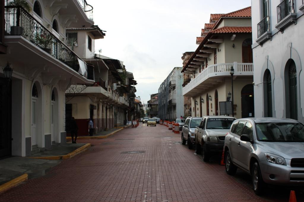 A Street in Casco Viejo, Panama