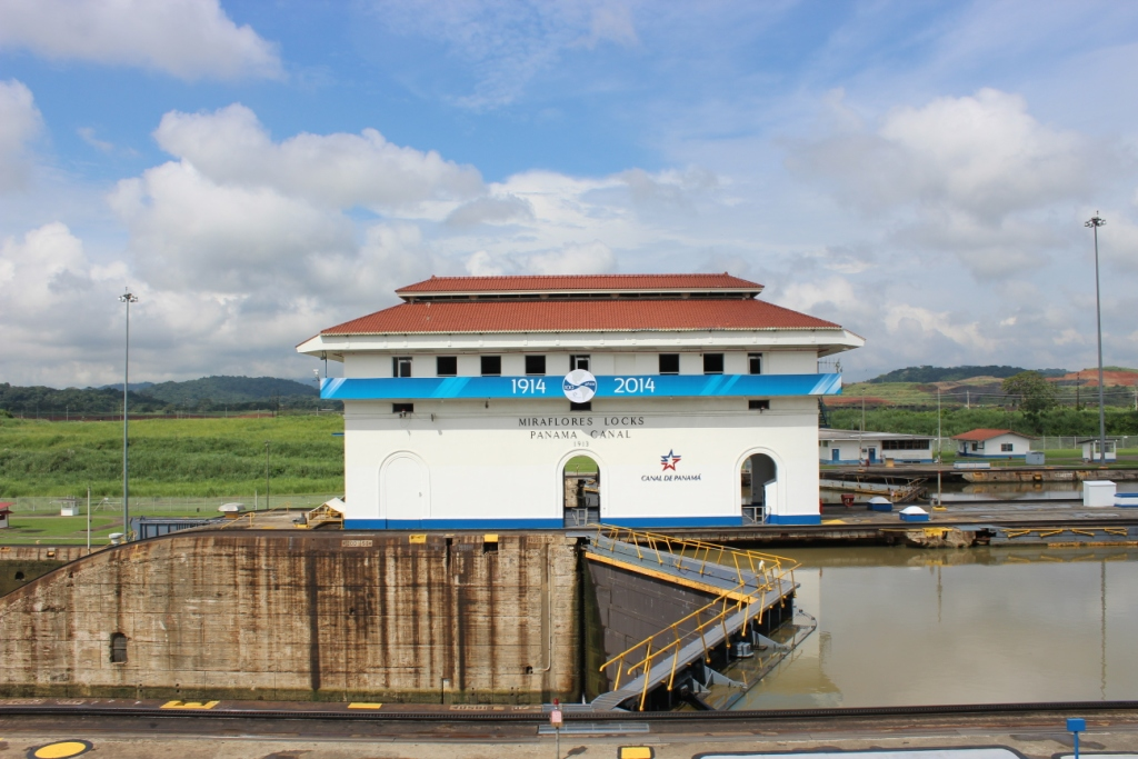 A Miraflores Lock
