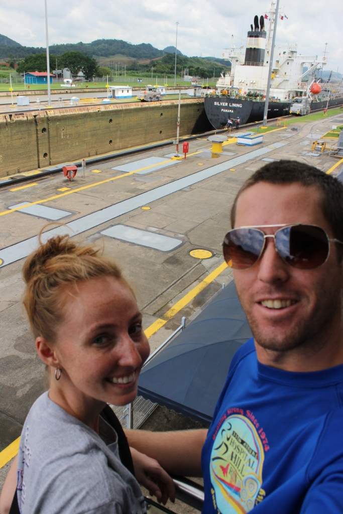 Kietzmans at the Panama Canal