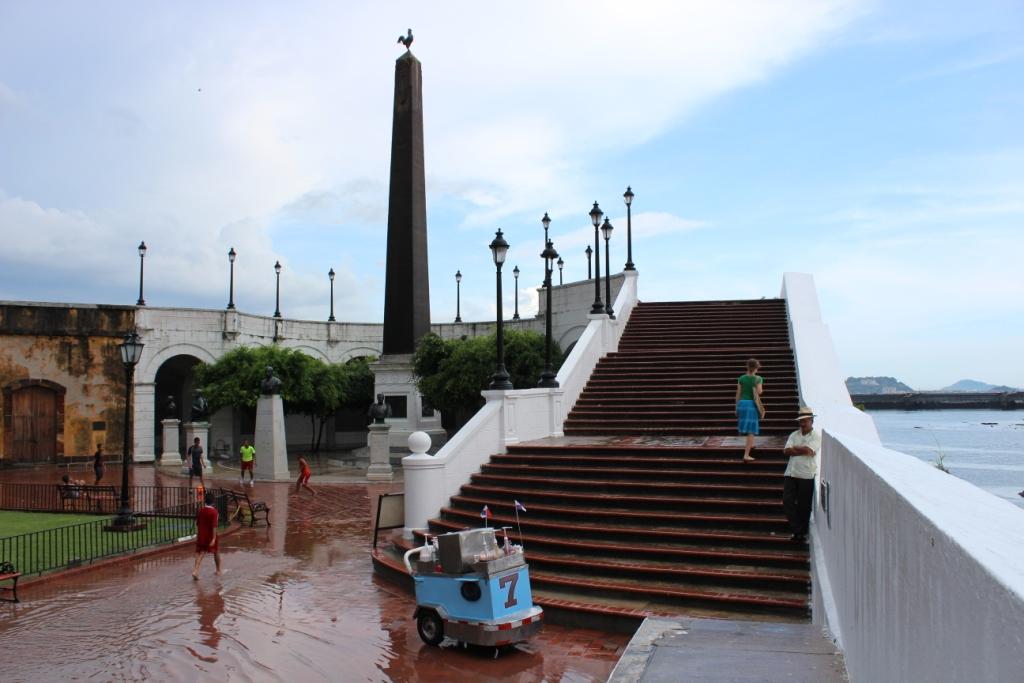 Plaza Francia, Casco Viejo, Panama