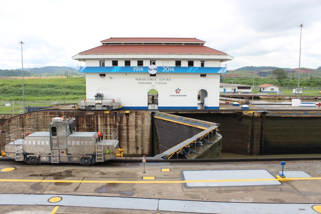 Water Moving at the Panama Canal