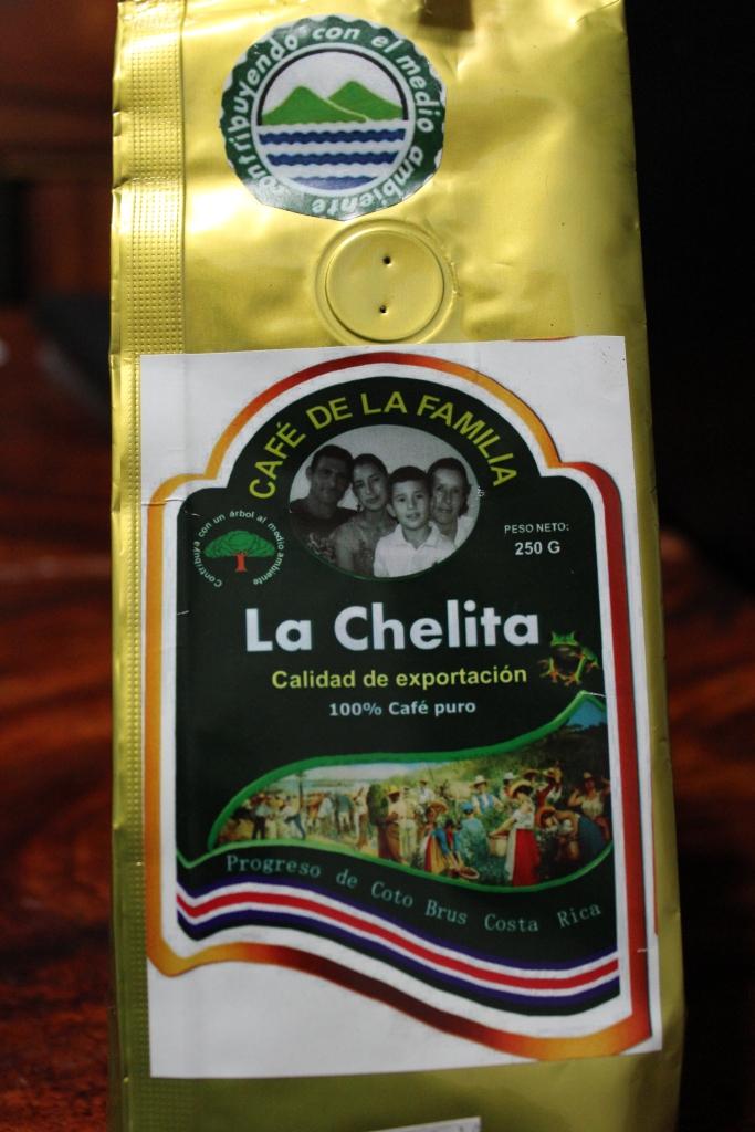 La Chelita, Cafe de la Familia in Costa Rica