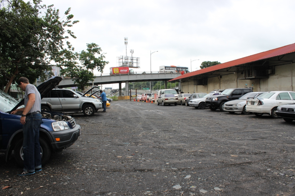 DIJ Vehicle Inspection in Panama City, Panama