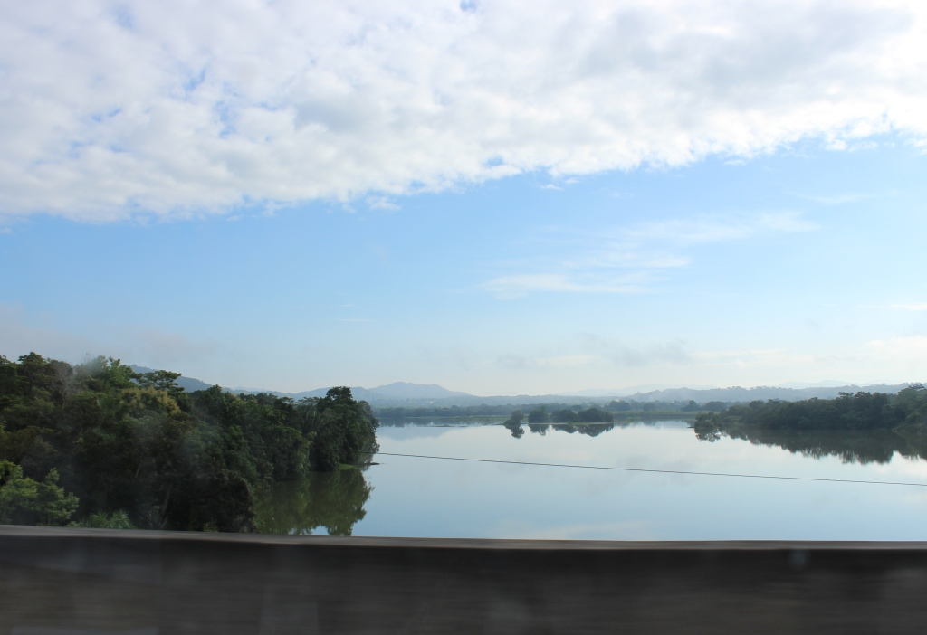 Driving between Panama City and Colón