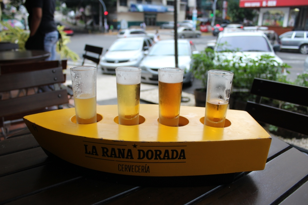 La Rana Dorada Sampler Flight