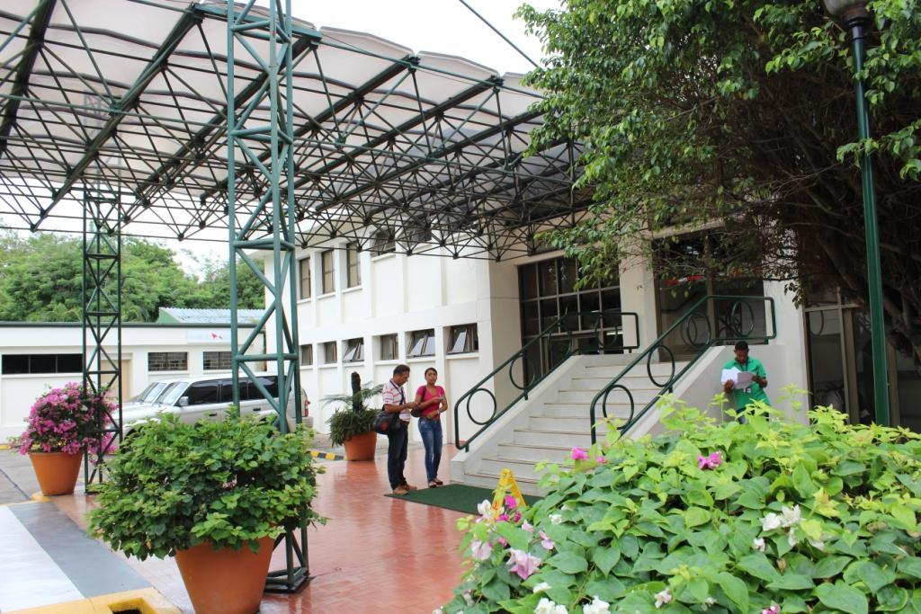 The Servicio al Cliente office at Sociedad Portuaria