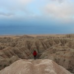 Badlands at Sunrise