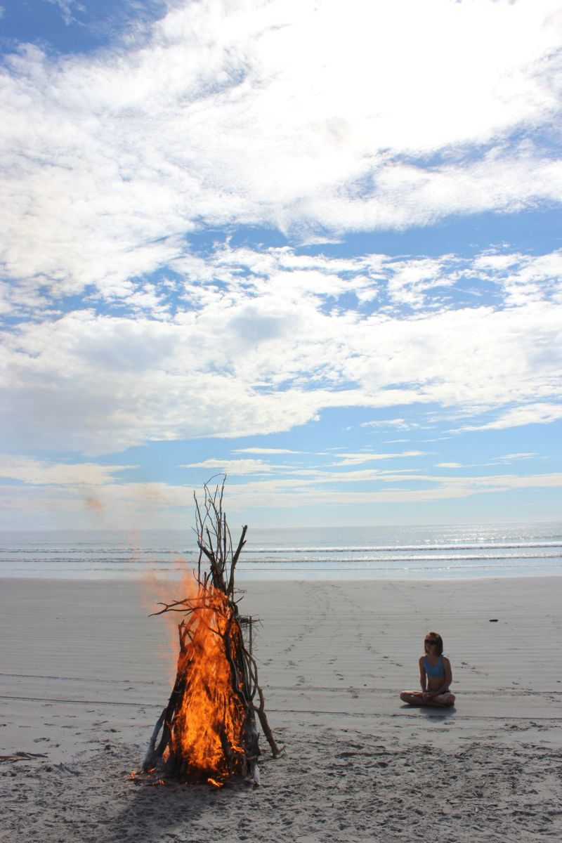 Baja Bonfire